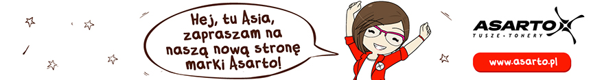 Bohaterka marki Asarto zaprasza na nowÄ… stronÄ™ marki.